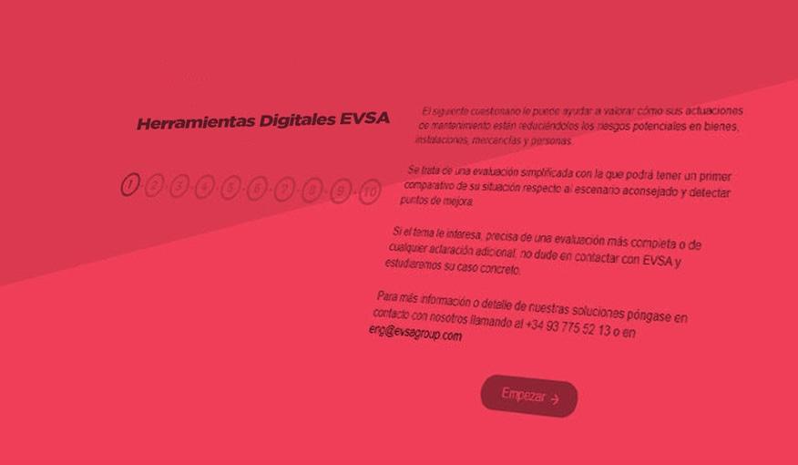 calculadora digitales EVSA Group