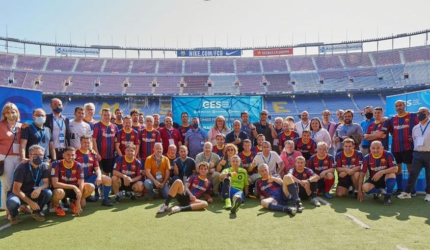 EVSA en el Camp Nou